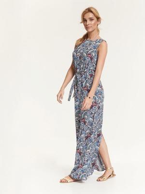 Top Secret šaty dámské dlouhé květované bsez rukávu poslední kus 5c497415ef